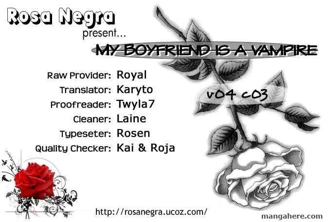 My Boyfriend is a Vampire 15 Page 1