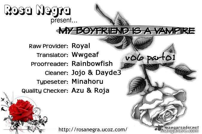 My Boyfriend is a Vampire 21 Page 1