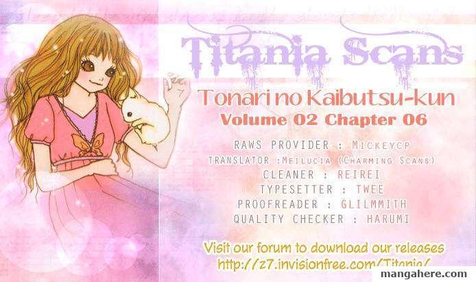 Tonari no Kaibutsu-kun 6 Page 1