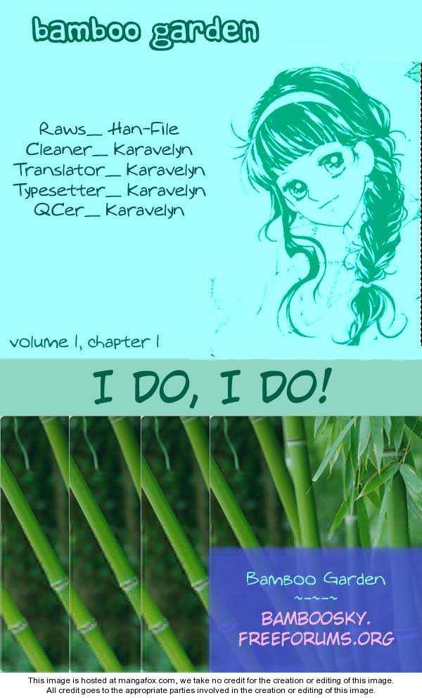I Do I Do 1.1 Page 1