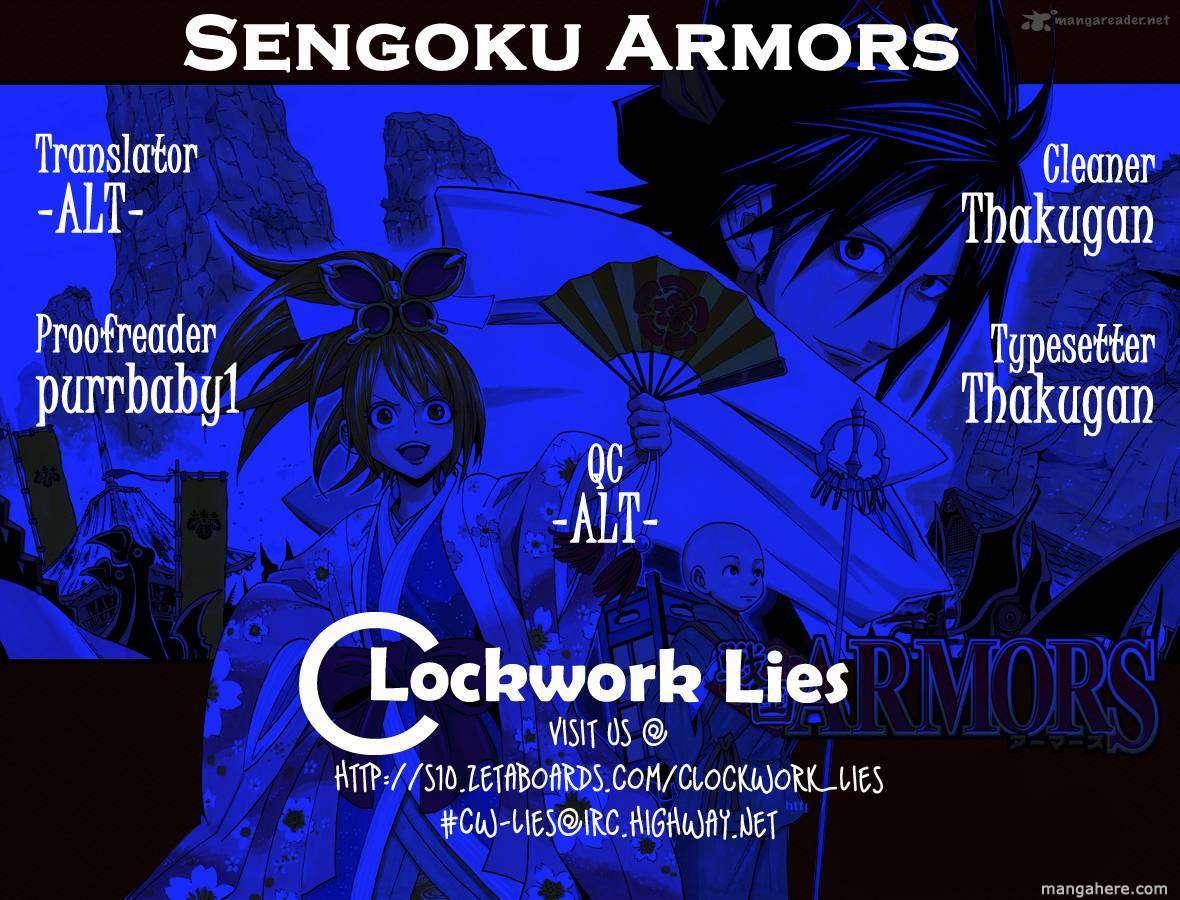 Sengoku Armors 4 Page 1
