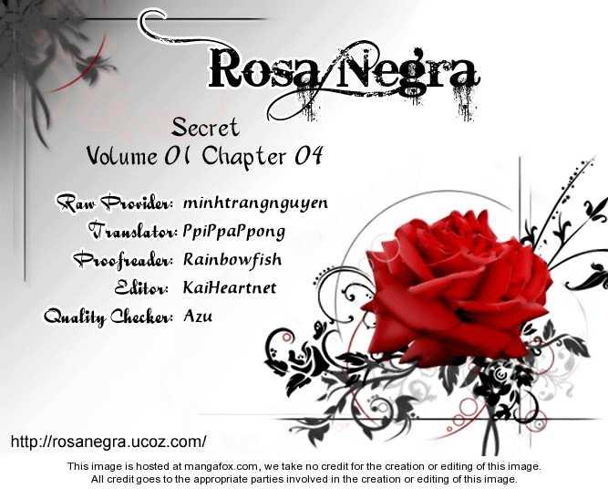 Secret (HAN Yu-Rang) 4 Page 1
