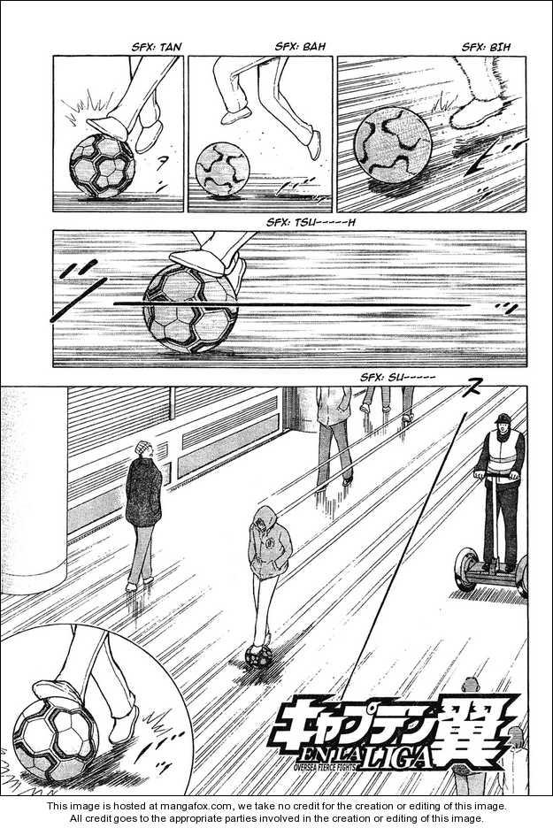 Captain Tsubasa - Kaigai Kekidou-Hen - En La Liga 2 Page 1