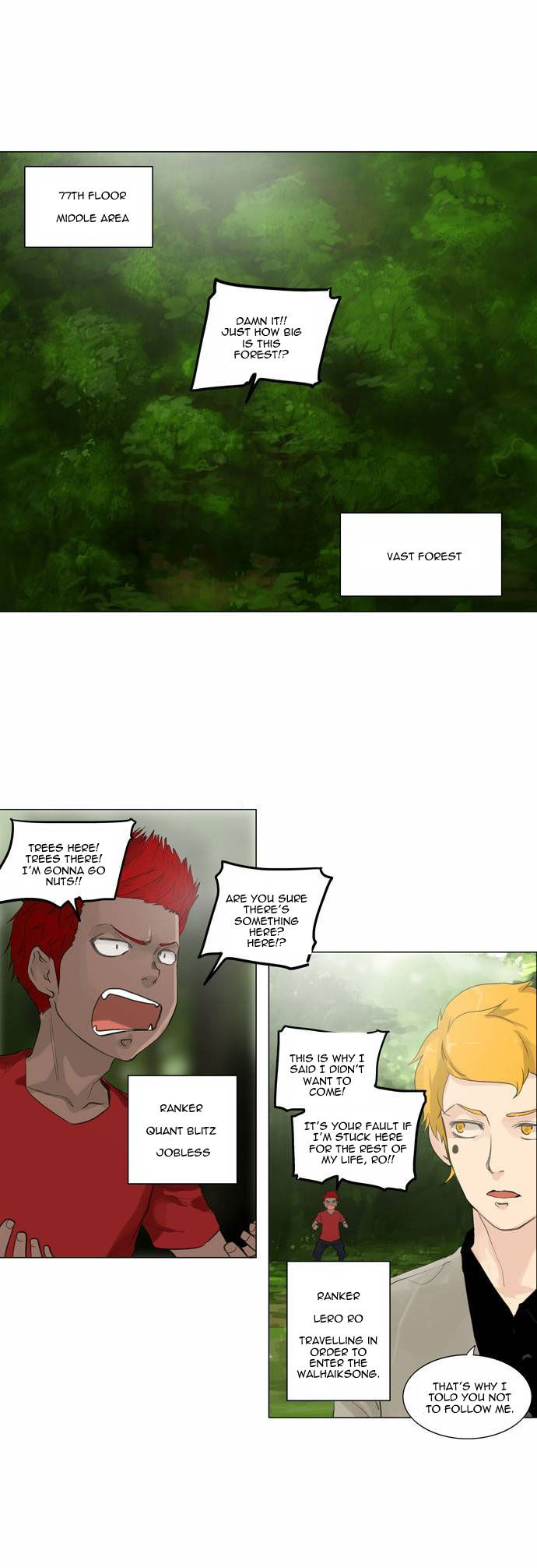 Tower of God 117 Page 1