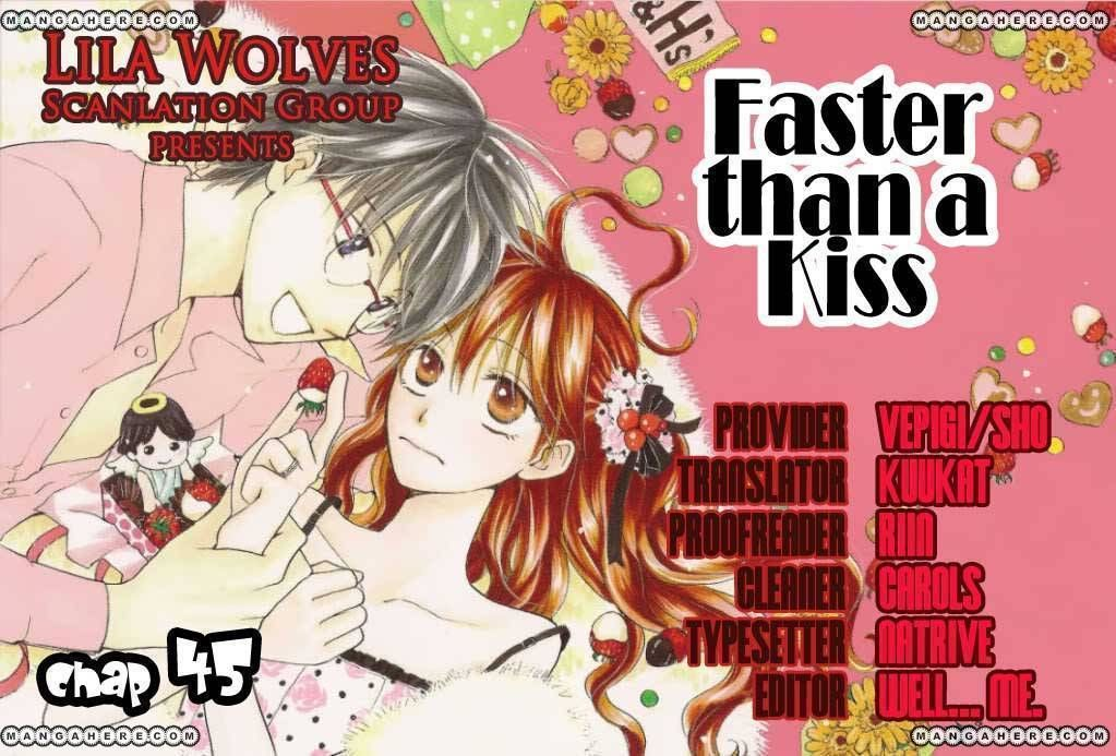 Faster Than a Kiss 45 Page 1