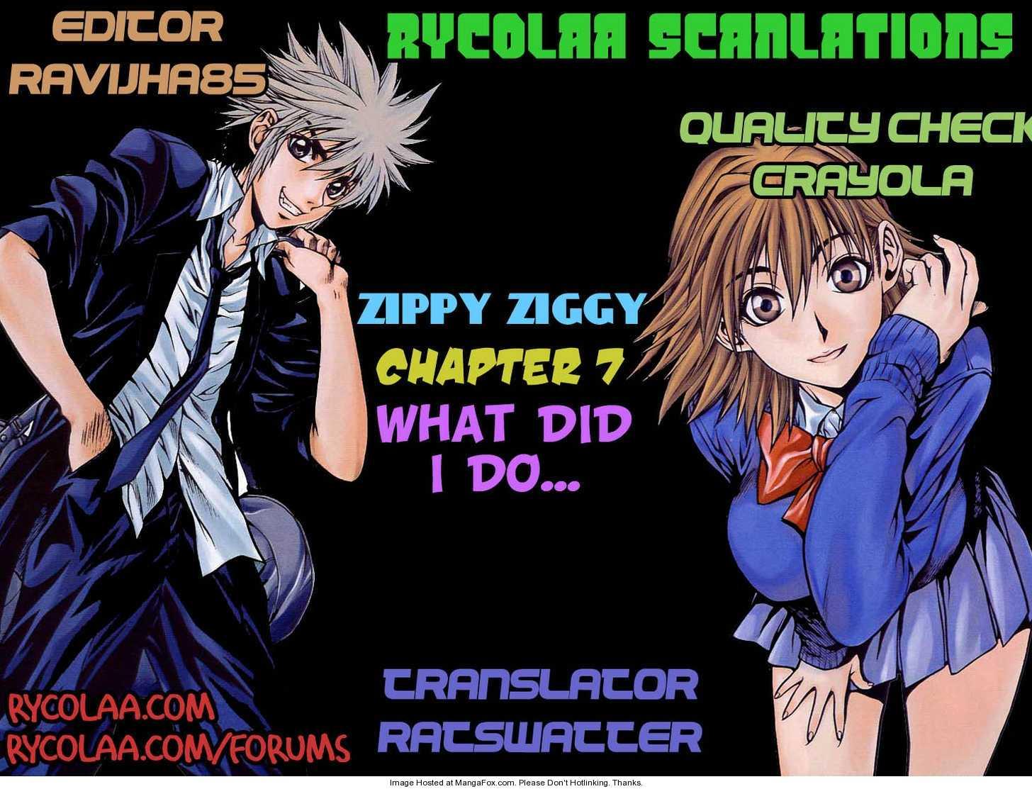 Zippy Ziggy 7 Page 1