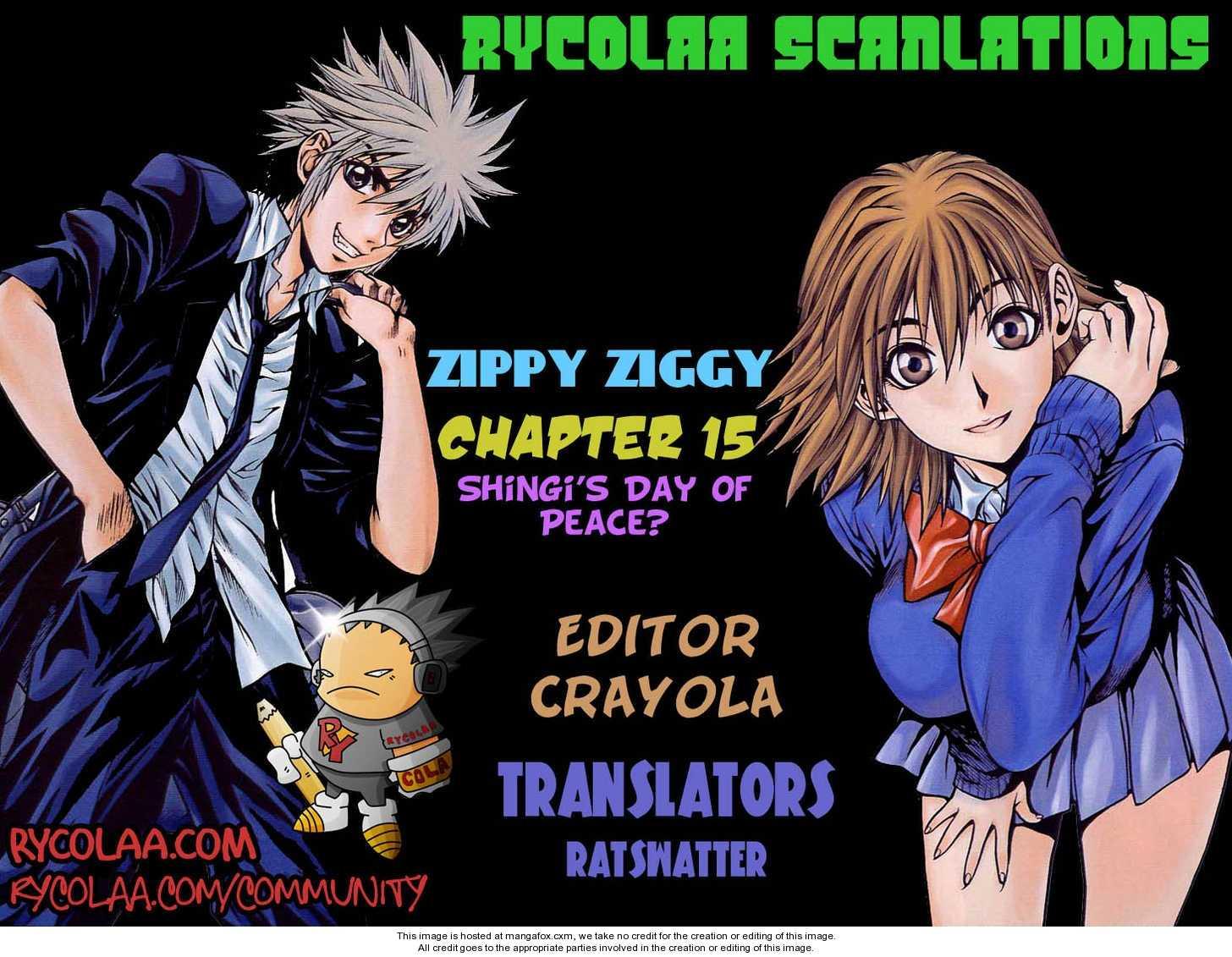 Zippy Ziggy 15 Page 1