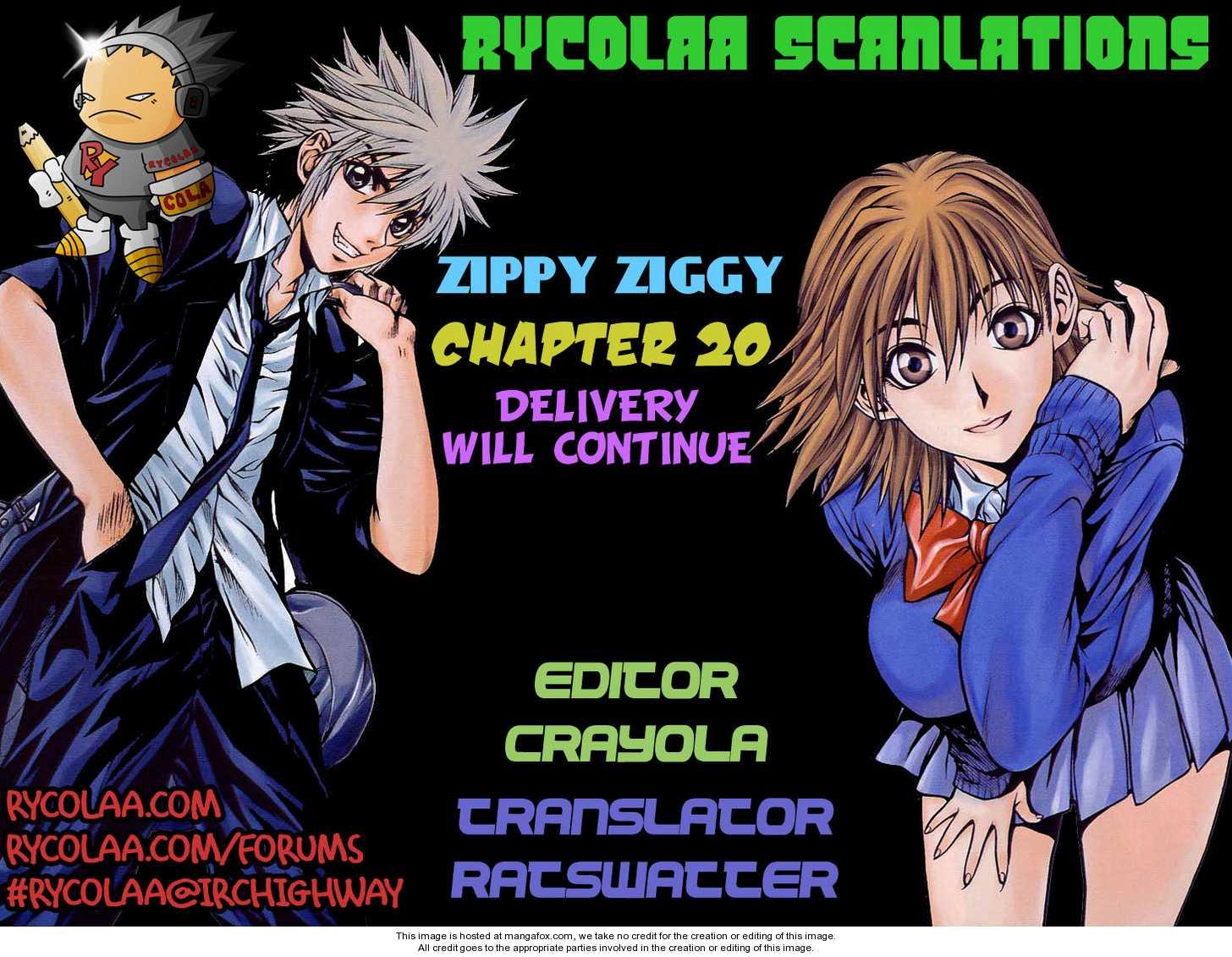 Zippy Ziggy 20 Page 1