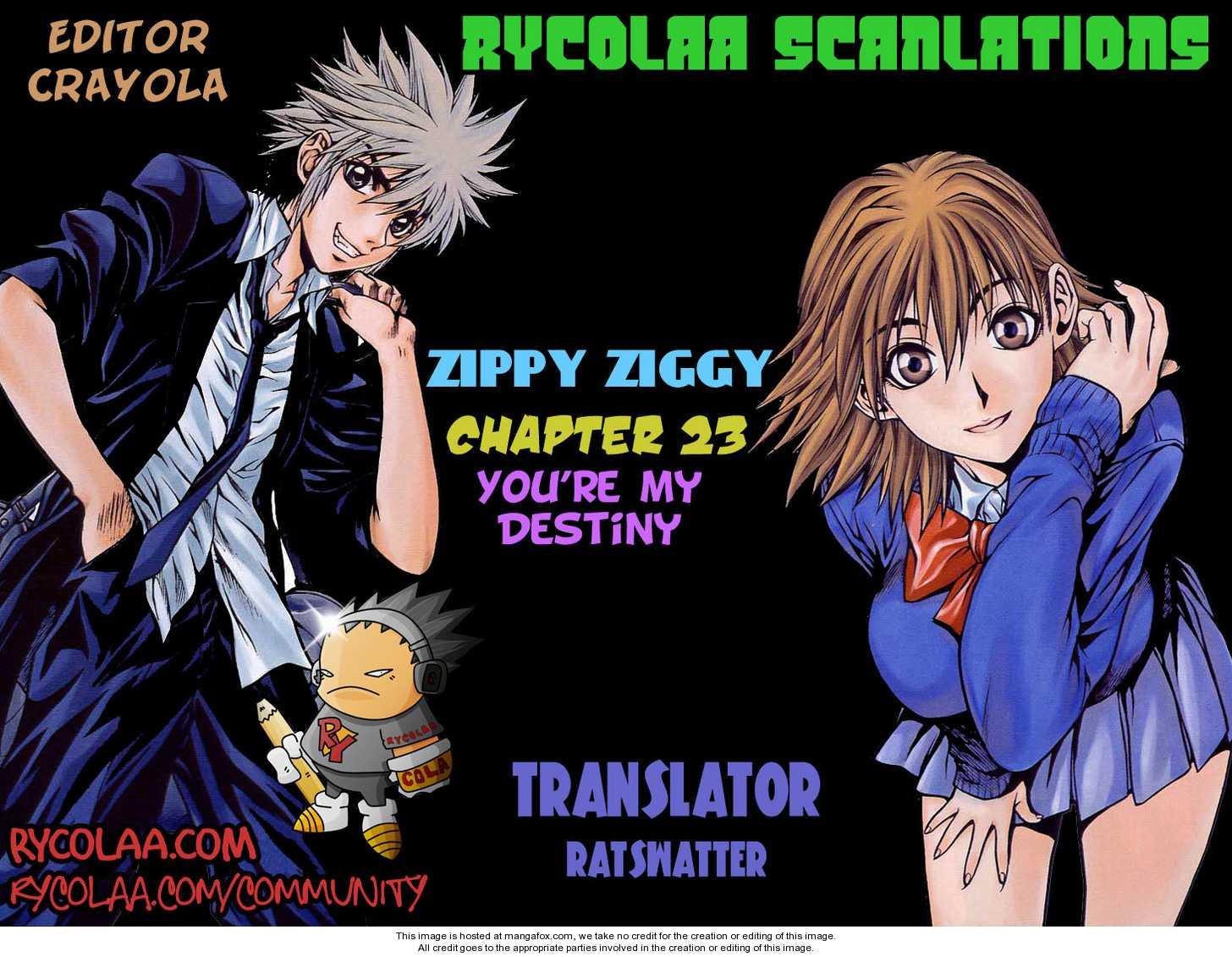Zippy Ziggy 23 Page 1