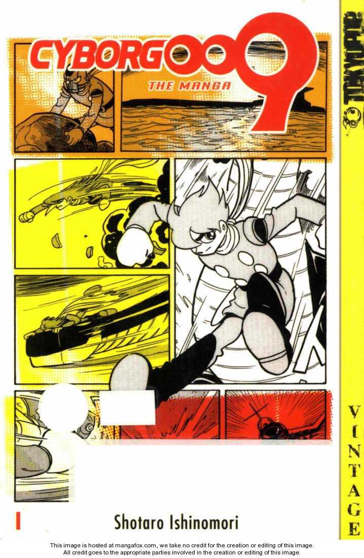 Cyborg 009 0 Page 2