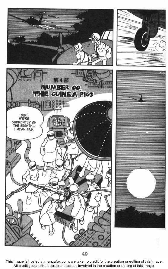 Cyborg 009 4 Page 1