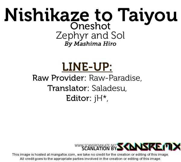 Nishikaze to Taiyou 1 Page 1