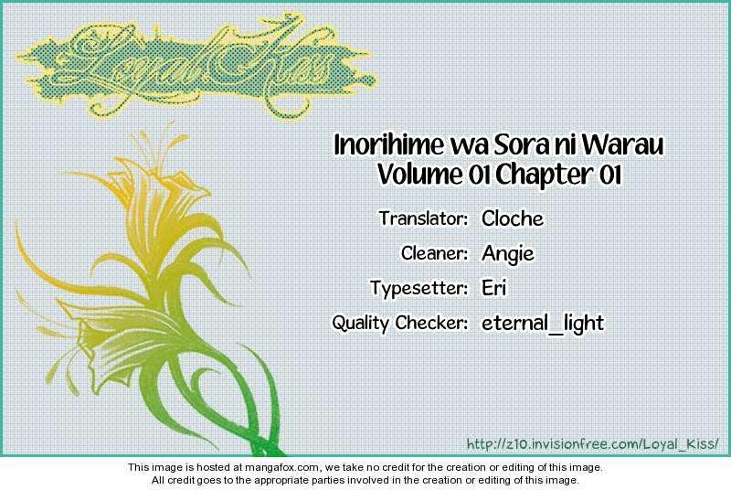 Inorihime wa Sora ni Warau 1 Page 1