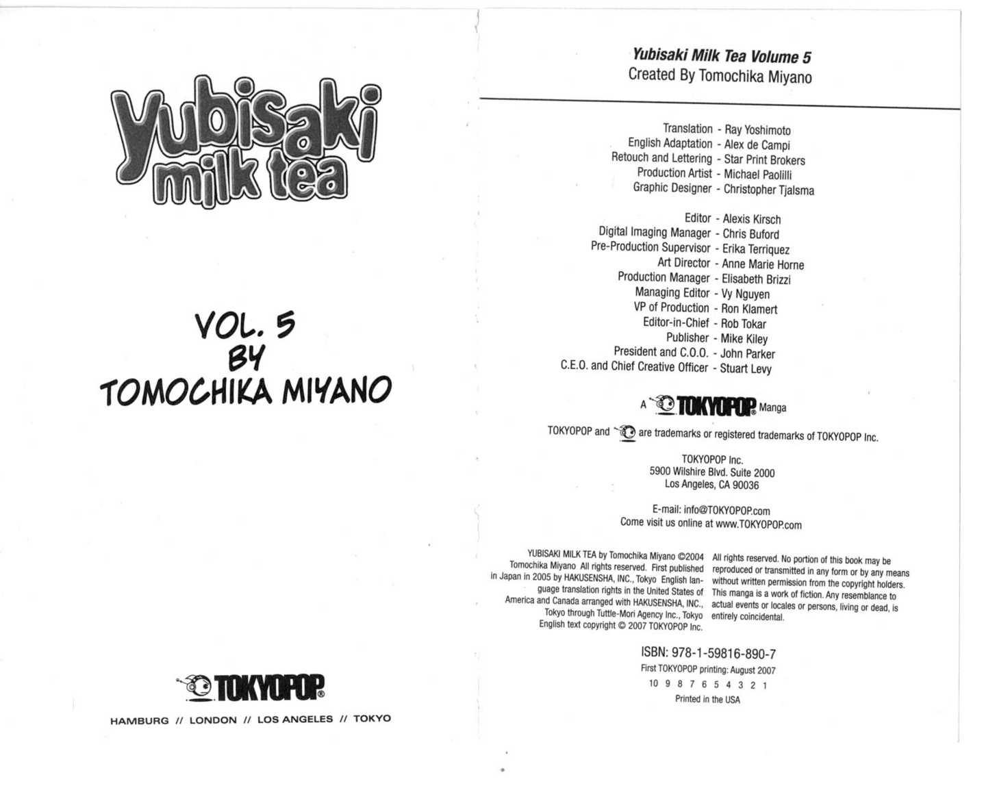 Yubisaki Milk Tea 0 Page 3