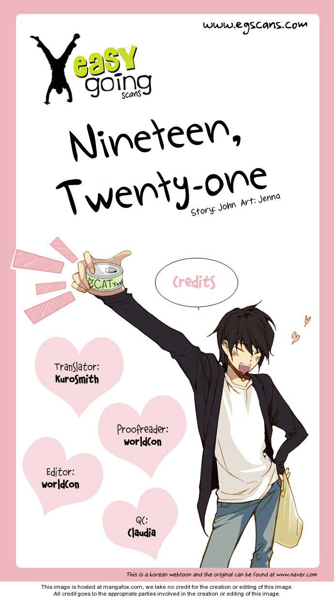 Nineteen, Twenty-One 2 Page 1