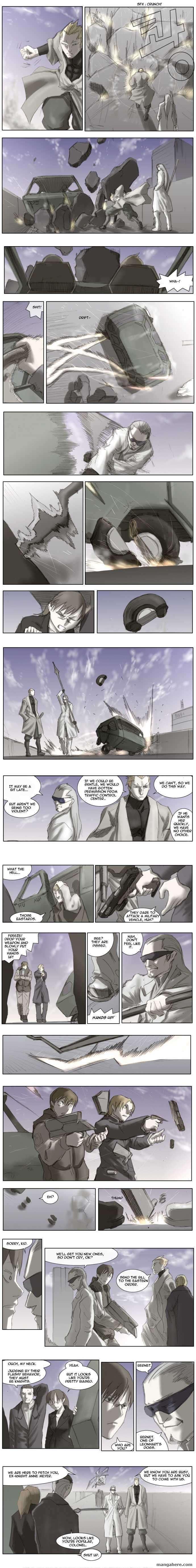 Knight Run 16 Page 1