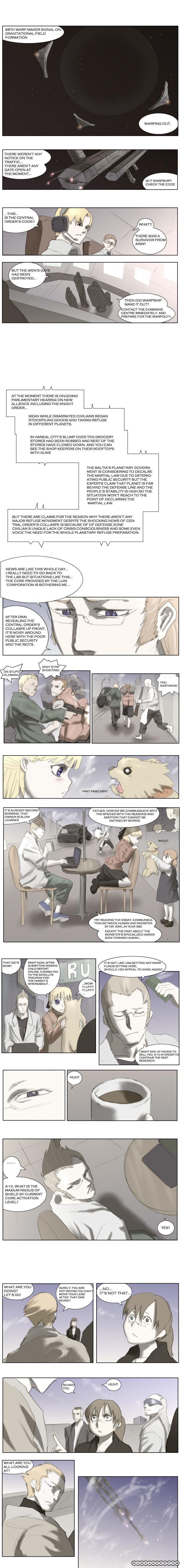 Knight Run 17 Page 1