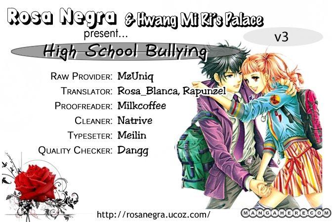 Oh Chunja Chunja High School Bullying 11 Page 1