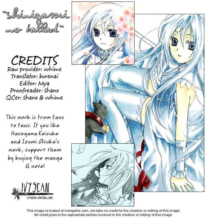 Shinigami no Ballad 9 Page 1