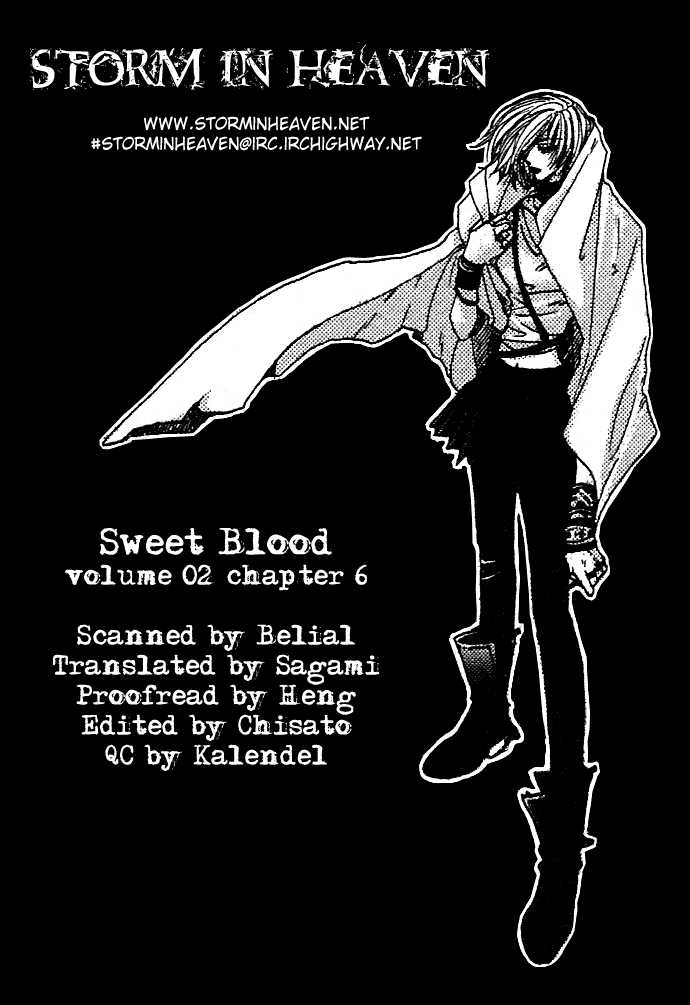 Sweet Blood 6 Page 1