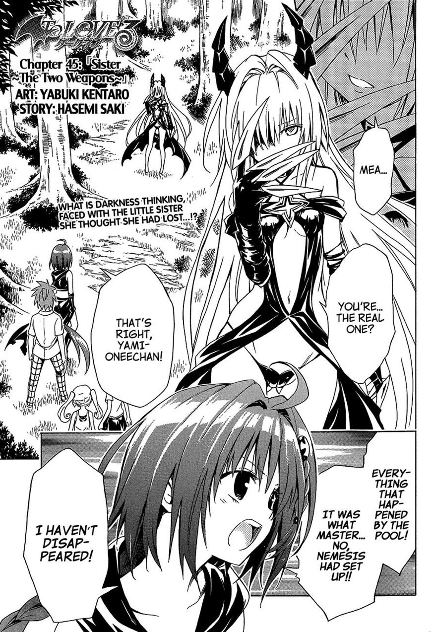 To Love Ru Darkness 45 Page 1
