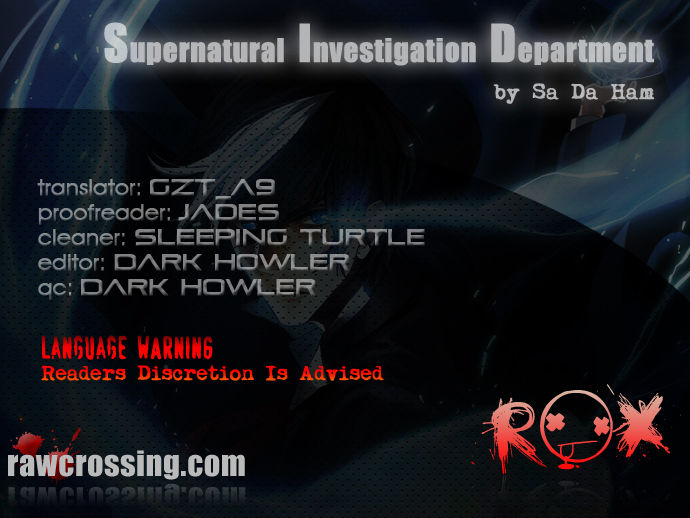 Supernatural Investigation Department 50 Page 1