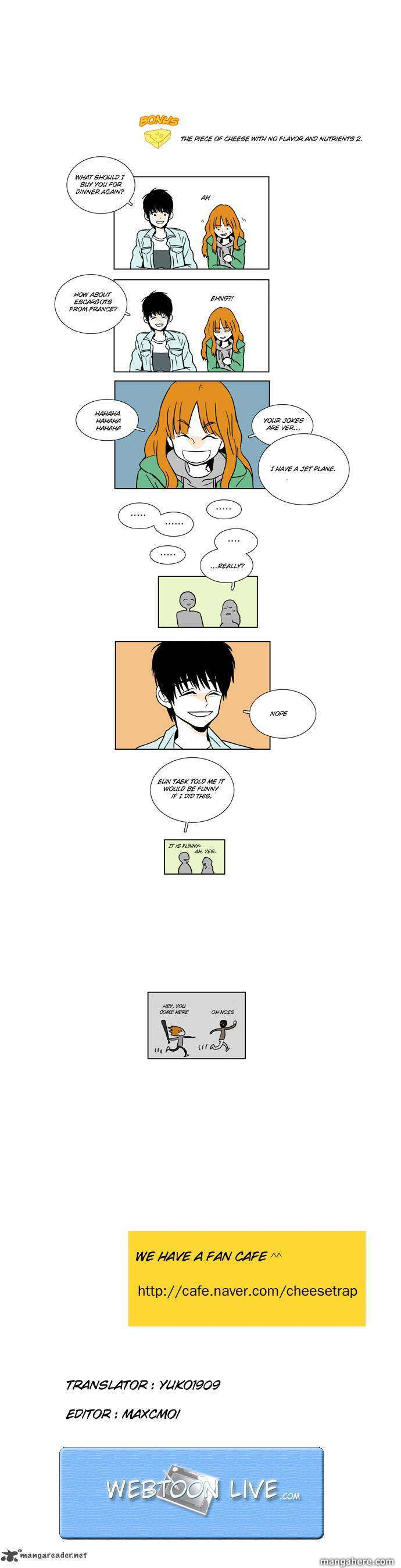 Cheese In The Trap 7 Page 3