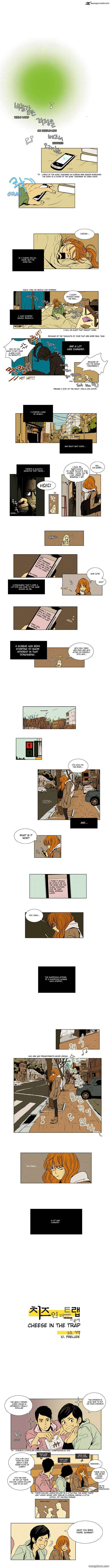 Cheese In The Trap 10 Page 1