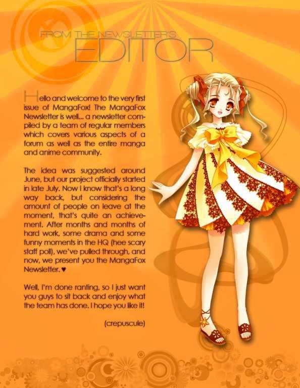 Mangafox Magazine 1 Page 2