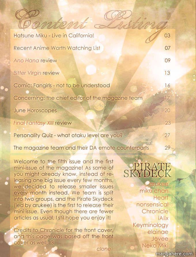 Mangafox Magazine 5 Page 2