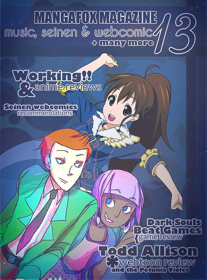 Mangafox Magazine 12 Page 1