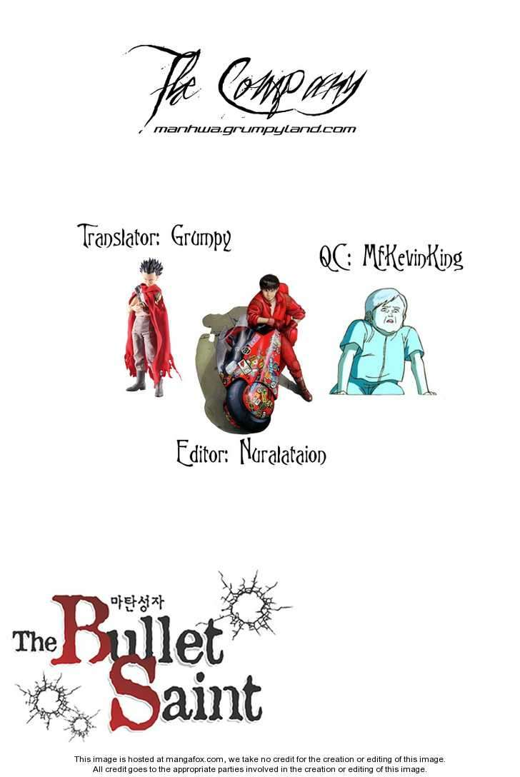 The Bullet Saint 1 Page 1