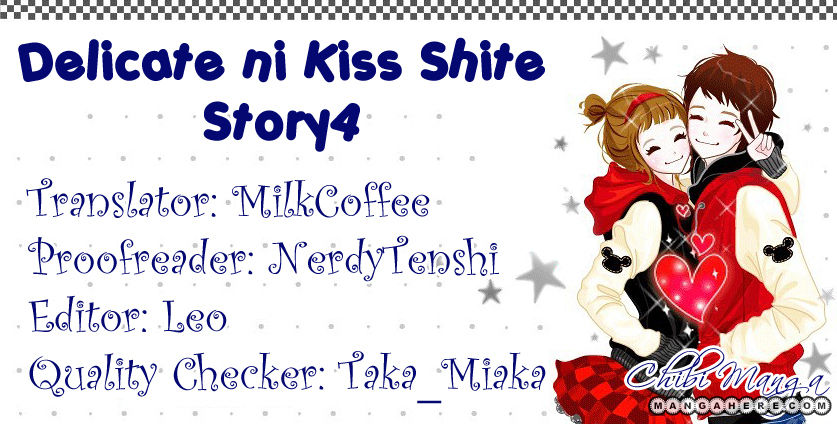 Delicate Ni Kiss Shite Takada Tami 4 Page 1