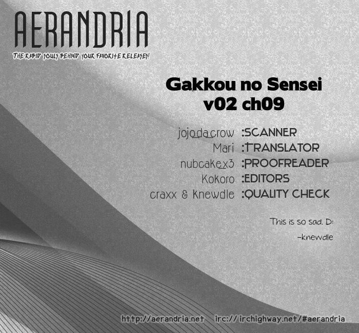 Gakkou No Sensei 9 Page 2