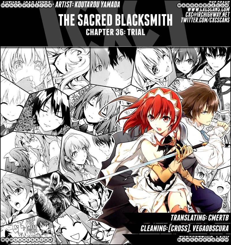 The Sacred Blacksmith 36 Page 1