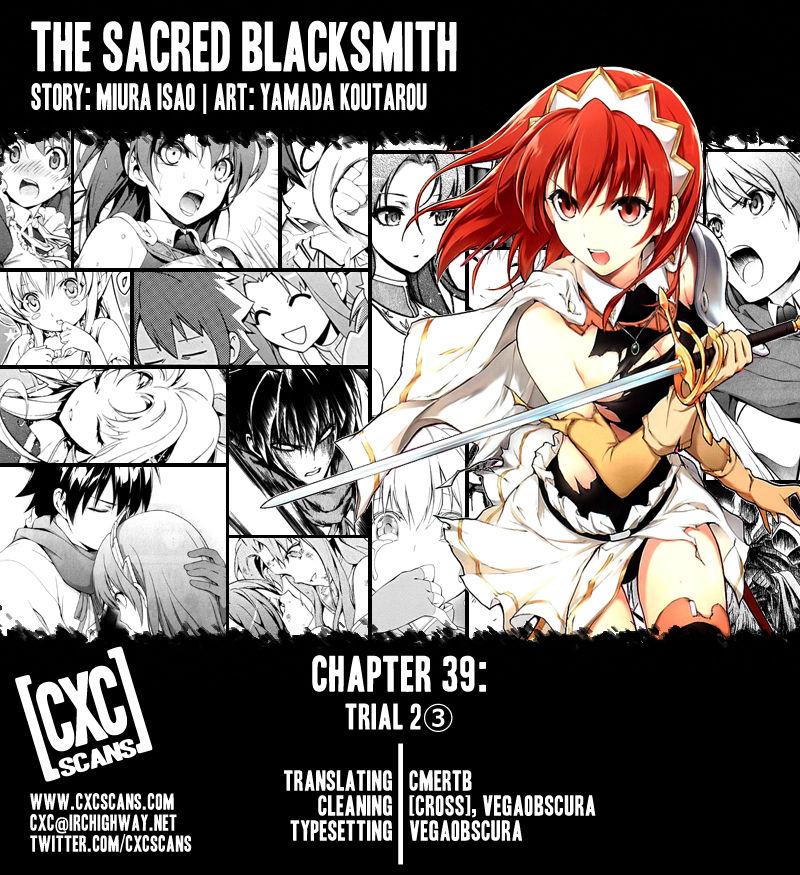 The Sacred Blacksmith 39 Page 1