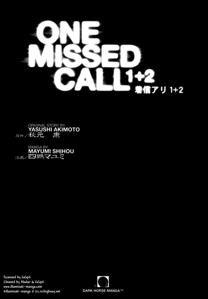 One Missed Call 0 Page 2