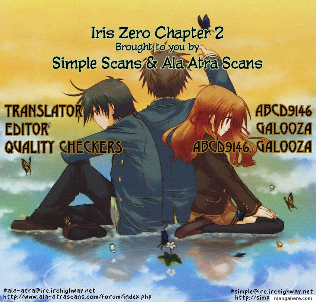 Iris Zero 2 Page 1