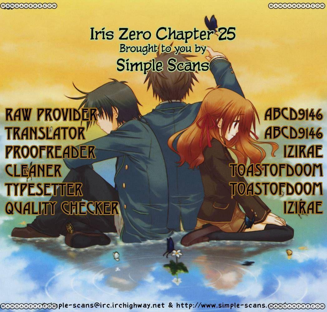 Iris Zero 25 Page 1