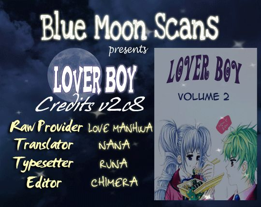 Lover Boy 8 Page 1