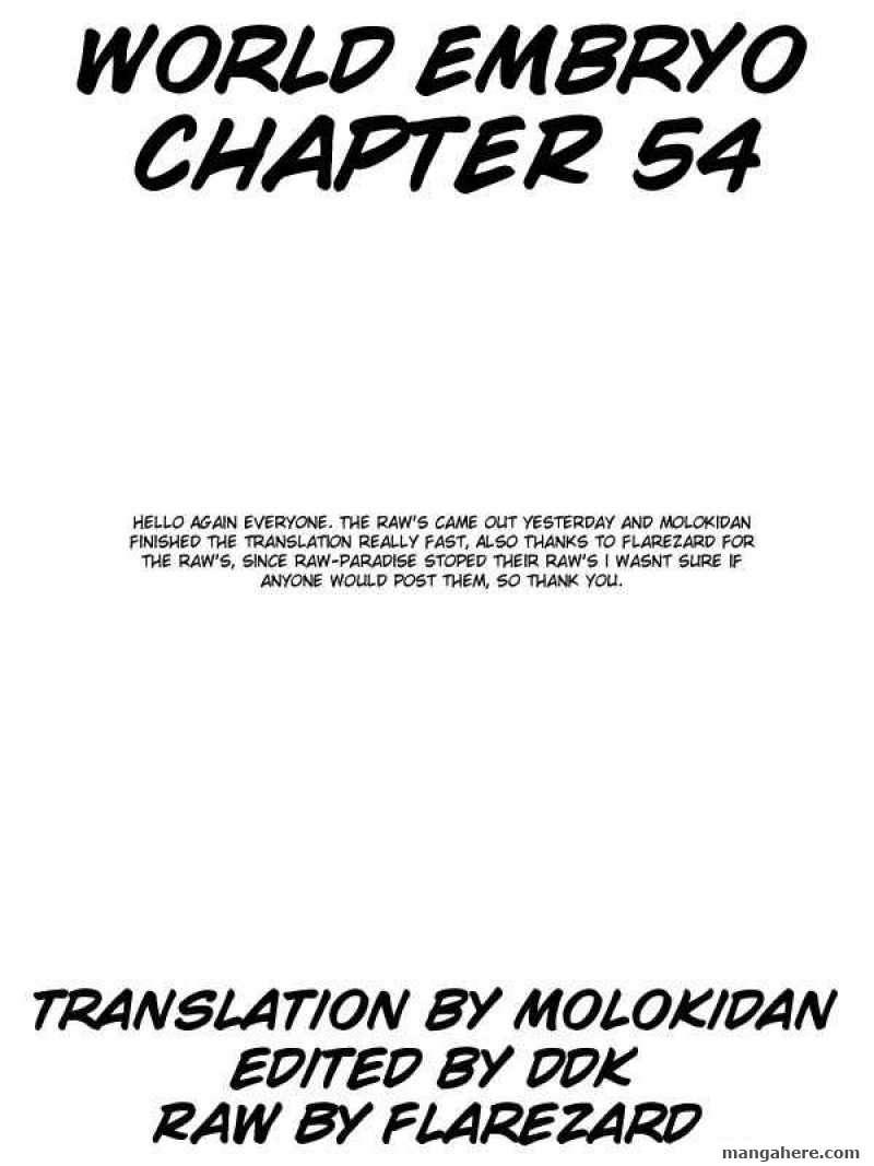 World Embryo 54 Page 1
