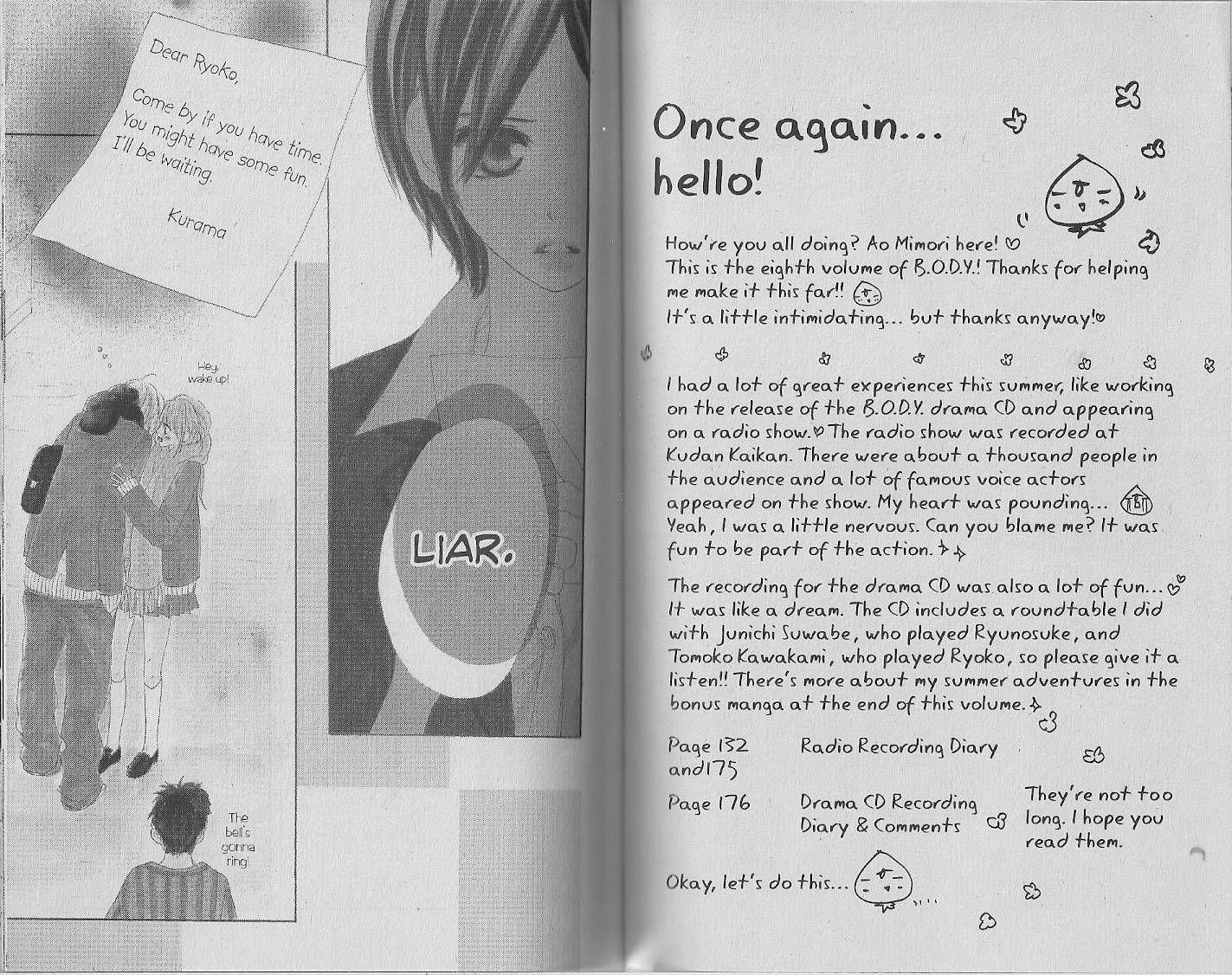 B.O.D.Y. 31 Page 1
