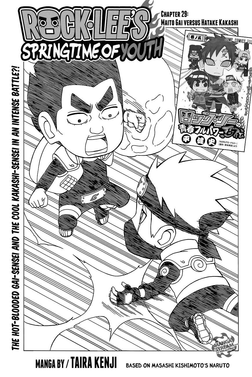 Rock Lee 29 Page 1