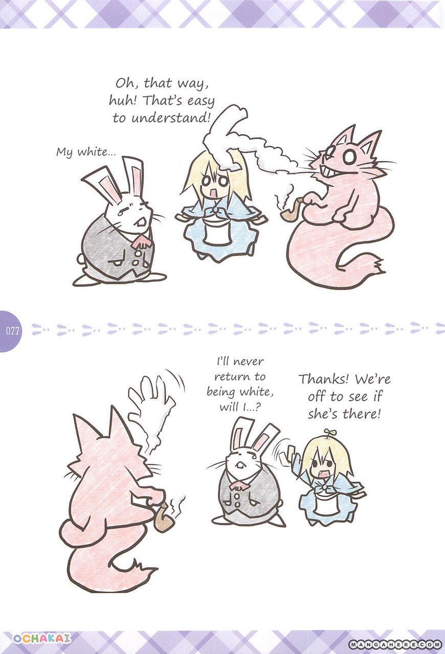 Akazukin-chan ga Fushigi no Kuni ni Mayoikondayou Desu 4 Page 2