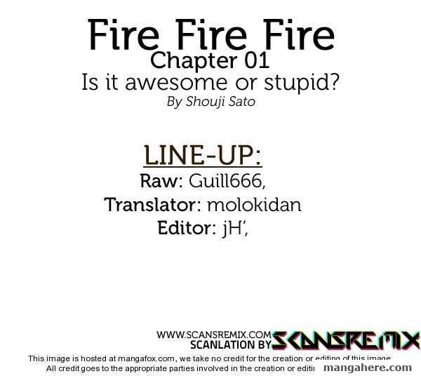 Fire Fire Fire 1 Page 1