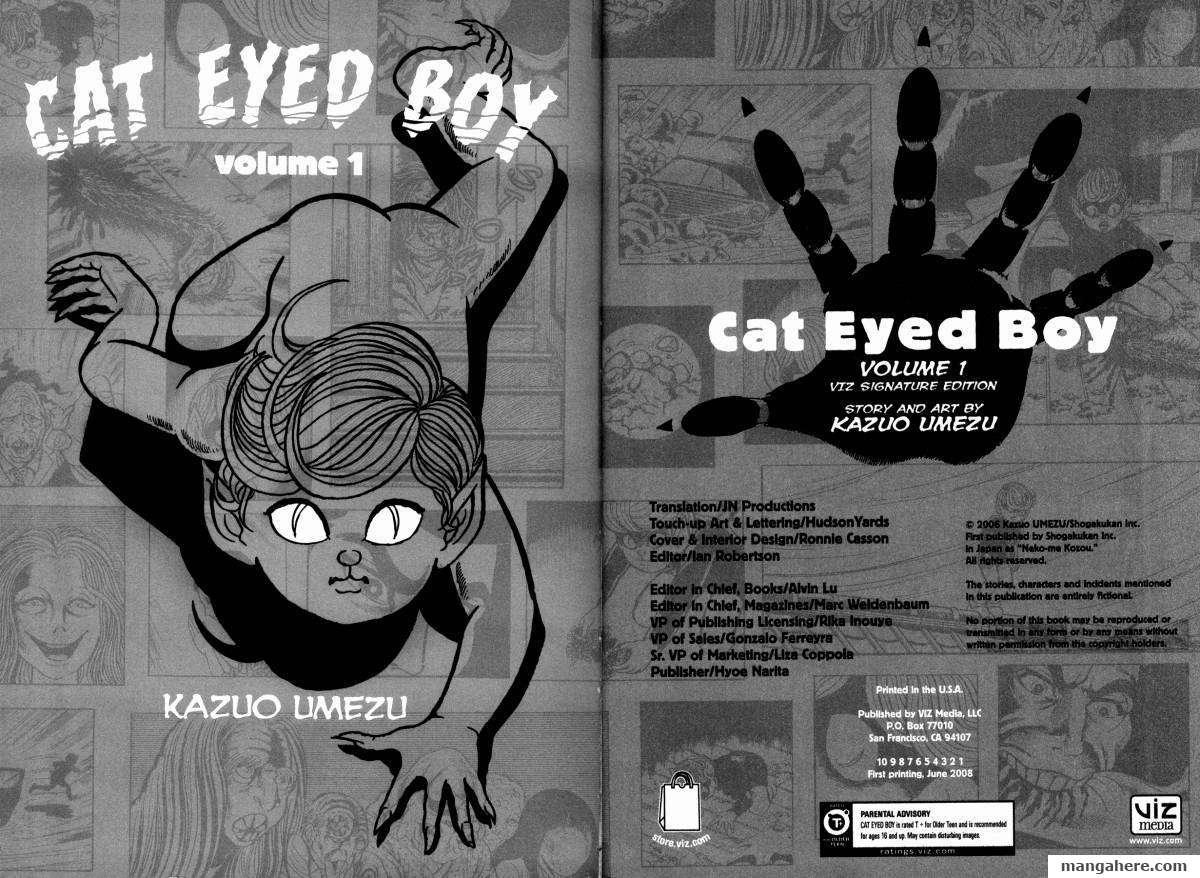Cat Eyed Boy 1 Page 3