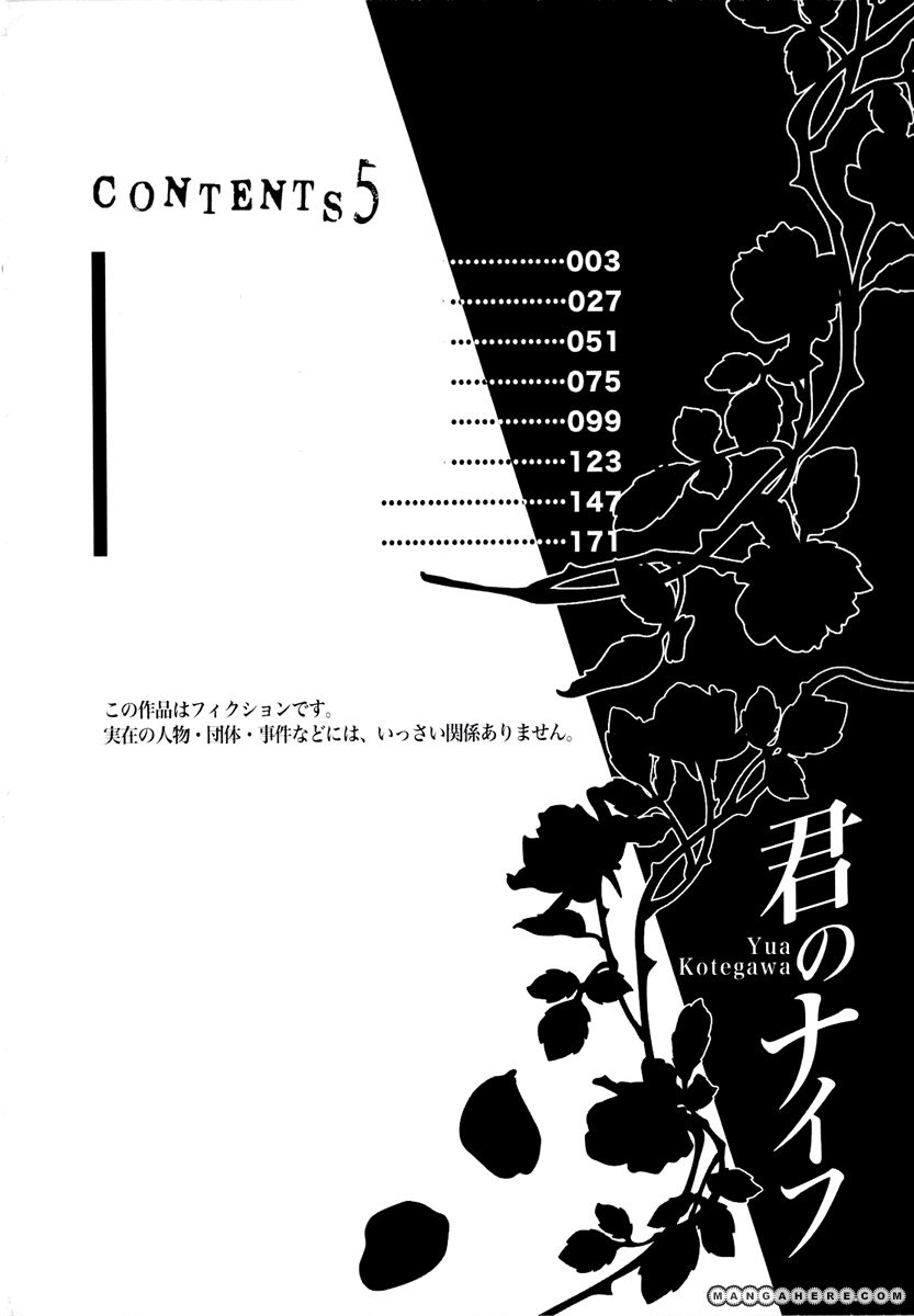 Kimi no Knife 32 Page 3