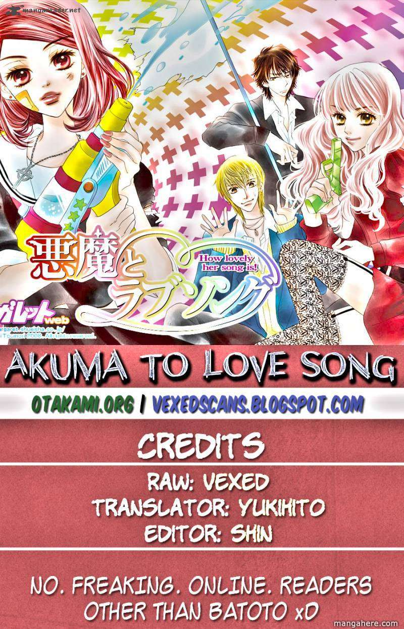 Akuma to Love Song 52 Page 1