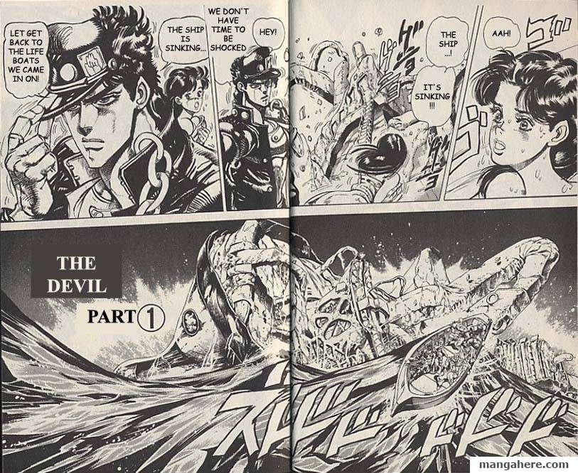 JoJo's Bizarre Adventure Part 3: Stardust Crusaders 19 Page 2