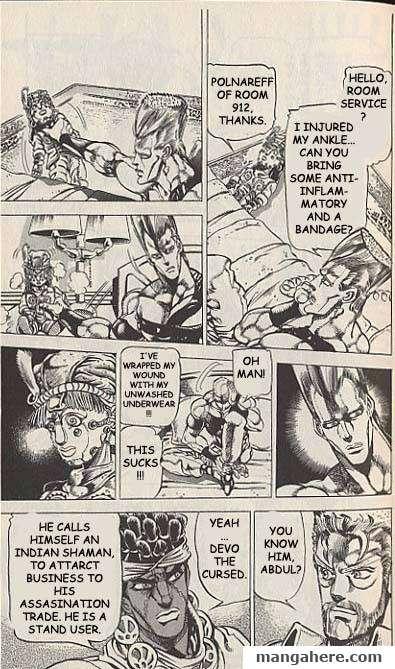 JoJo's Bizarre Adventure Part 3: Stardust Crusaders 20 Page 2